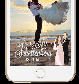 Advanced Wedding Geo-Filter