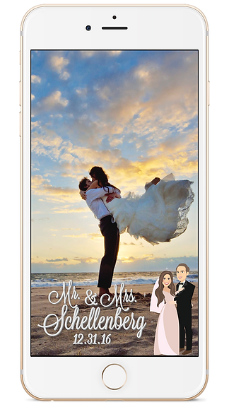 Custom Wedding Geofilter