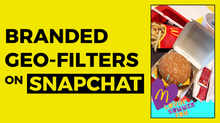 Branded Geo-Filters On Snapchat