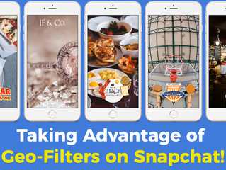 Take Advantage Of Geo-Filters On Snapchat