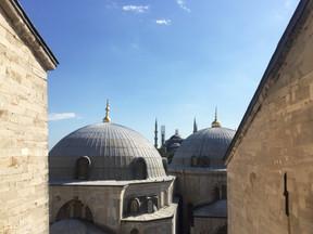 From Hagia Sophia's window