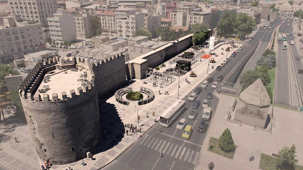 View from Yoğun Burç
