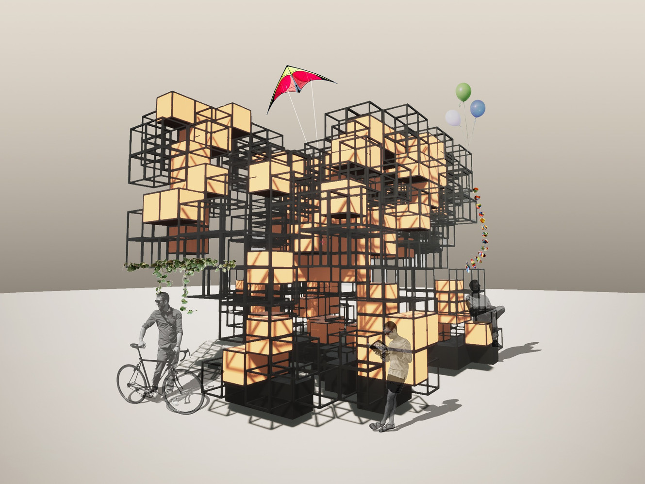 Cellular Automata Pavilion