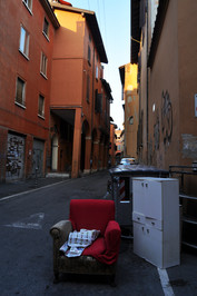 Life in streets of Bologna