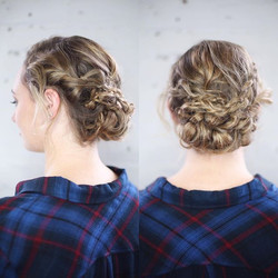 Love a good bohemian updo 🤘🏻