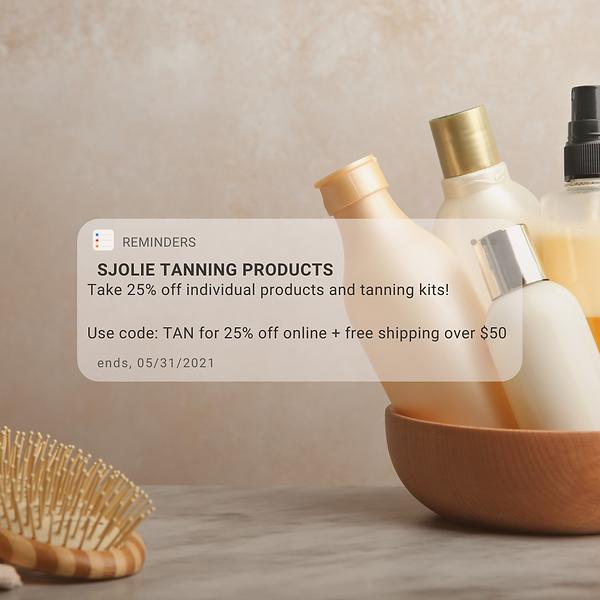 Sale Skincare Notification Reminder Inst
