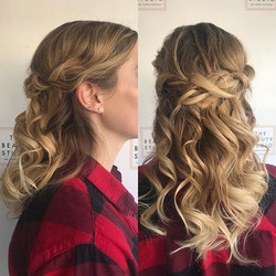 Romantic half-up by Marsia ❤️