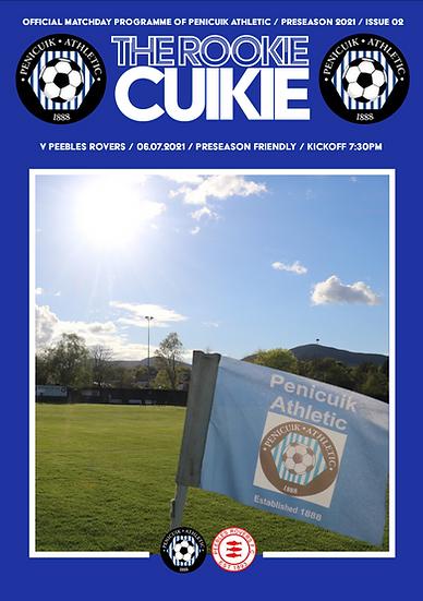 'The Rookie Cuikie' Pre-Season Issue #2 Digital Copy