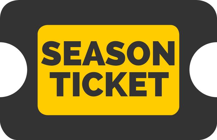 2021/22 Season Ticket (Adult)