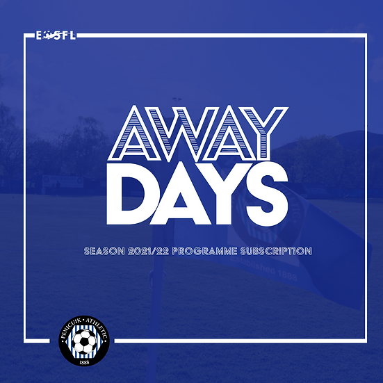 Season 2021/22 Away Programme Subscription