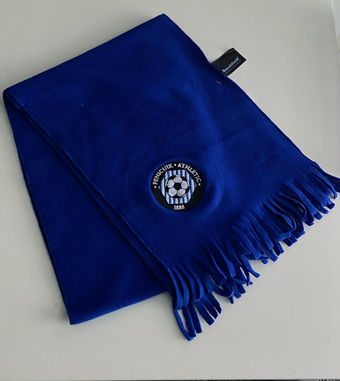 Blue Fleece Scarf