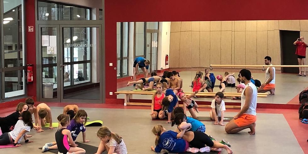 Athletiktraining Mittwoch 27.05.2020 Anfänger I + II und TSG mit Eltern 17:00 - 18:00 Uhr