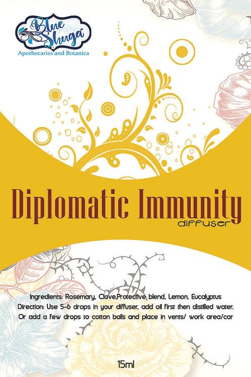 Diplomatic Immunity Diffuser Blend