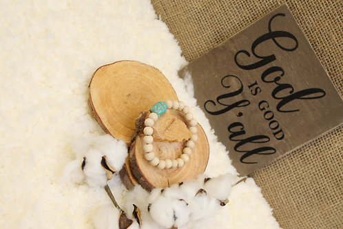 Wood Bead