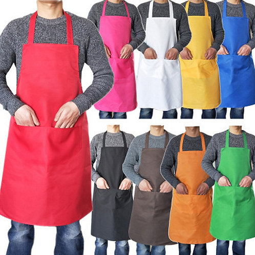 Colorful Cooking/Blending Aprons Kitchen Cleaning Adult Apron