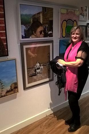 Anne Samuel at London exhibition.jpg