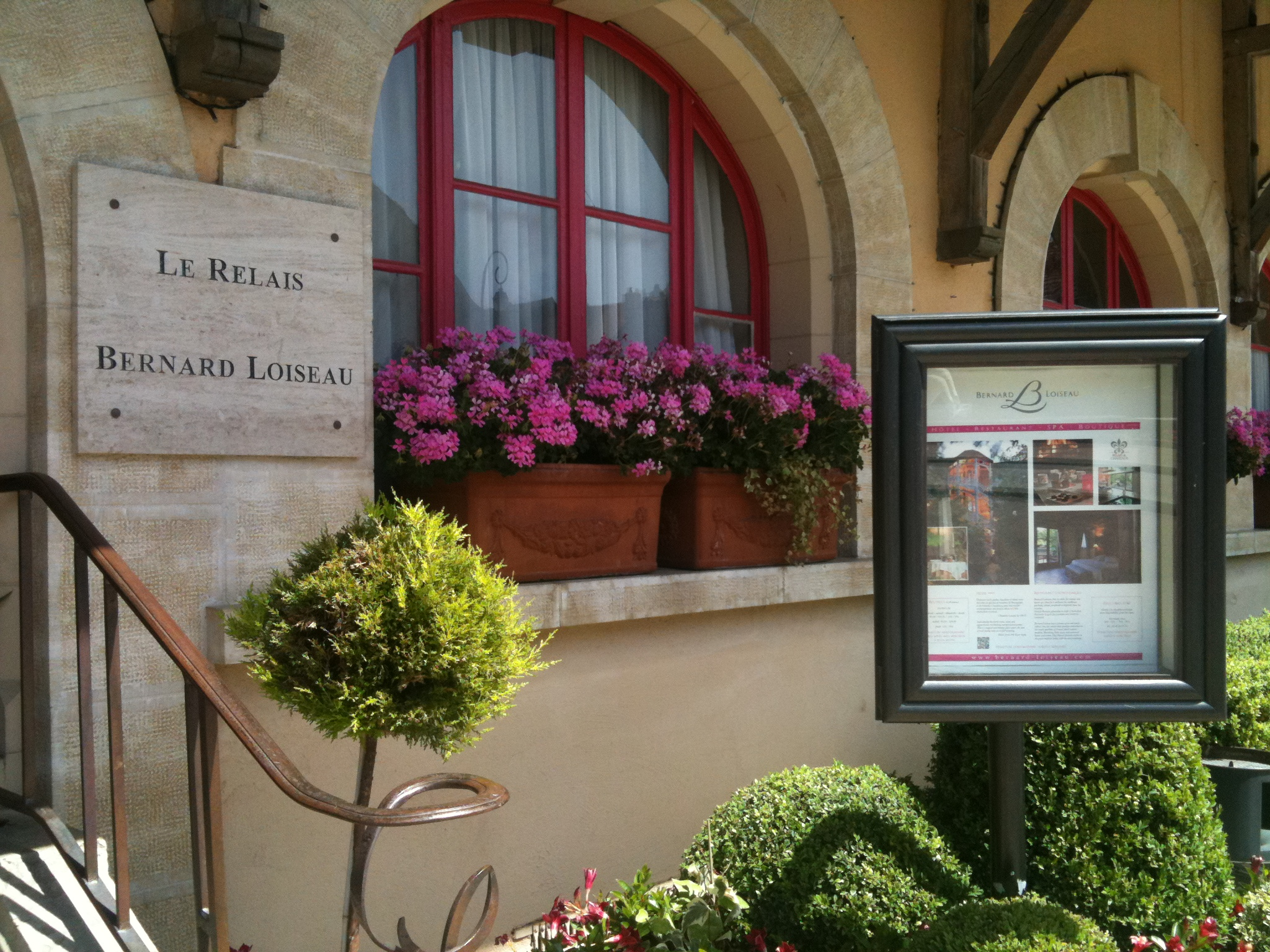Restaurant Bernard Loiseau, Seaulieu
