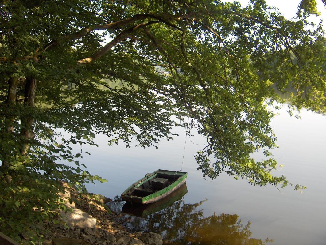 Barque et douce quiétude ...