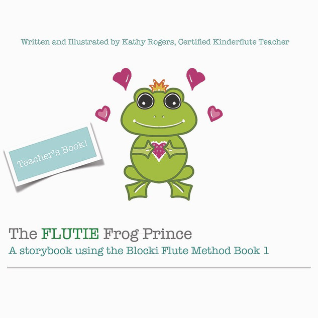 The Flutie Frog Prince Teacher Book