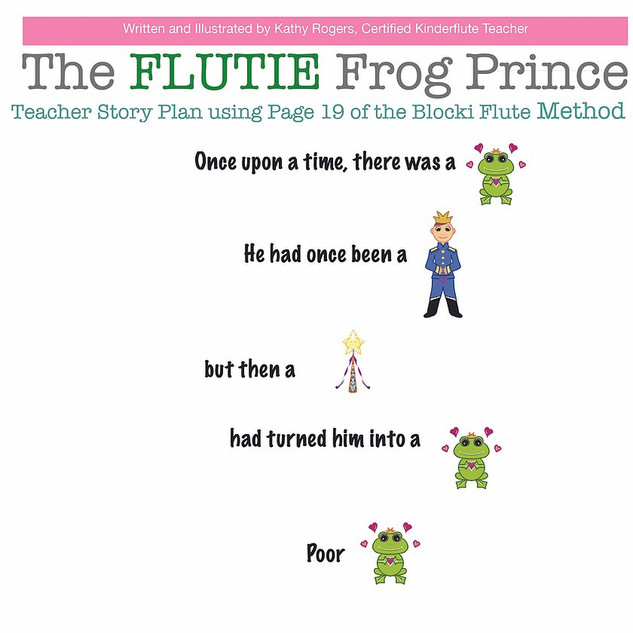 The Flutie Frog Prince Teacher Story Plan