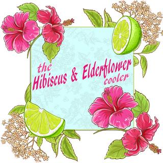 The Hibiscus & Elderflower Cooler