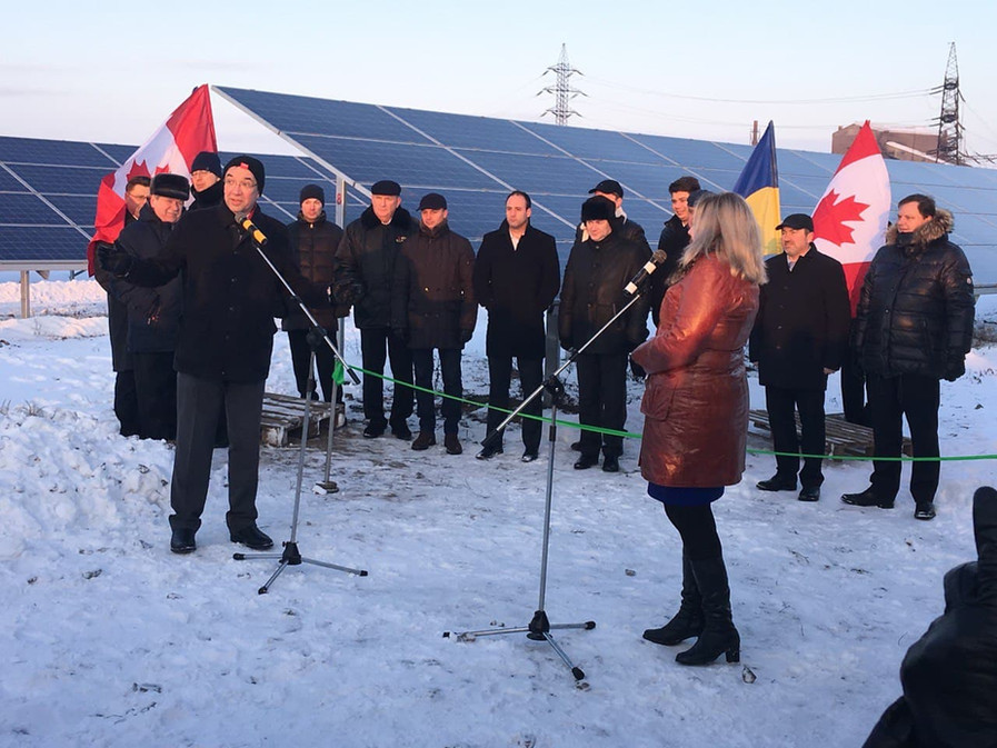 General Opening of the solar plant