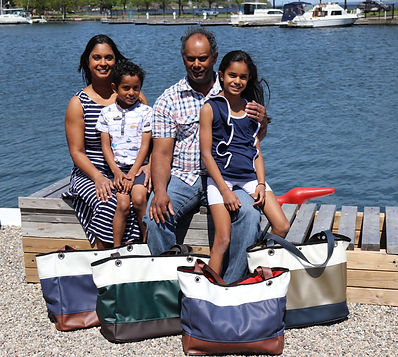 Nandoo family, owners and operators of drop. Nautical
