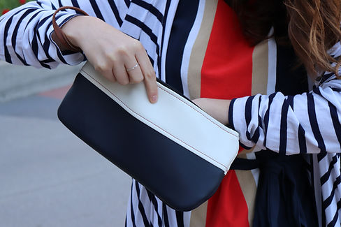drop. nautical wristlet
