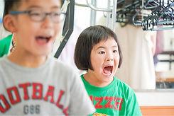 レッスン時の子ども達の写真