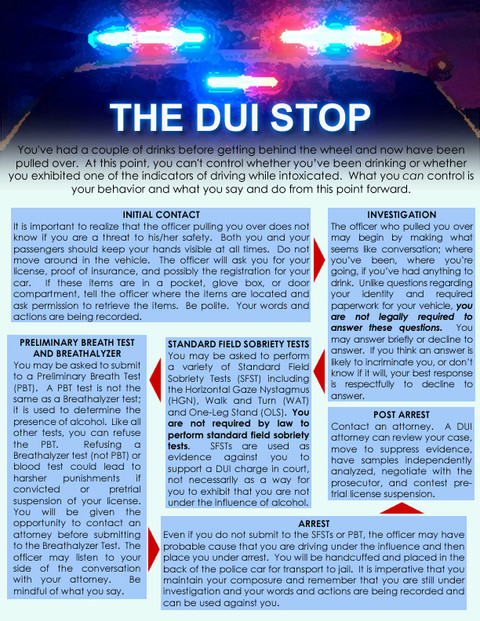 The DUI Stop