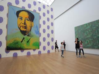 דיוקן מנהיג סין מוצג במוזיאון בפריז