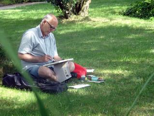 """Workshop """"Malen im Botanischen Garten"""""""