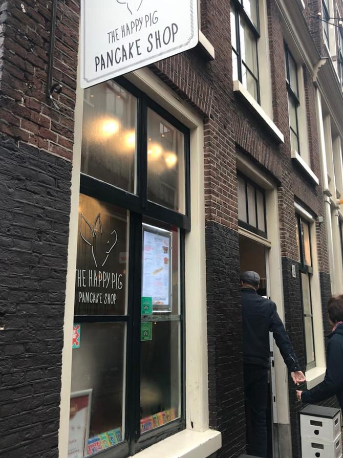 Flying visit to Amsterdam