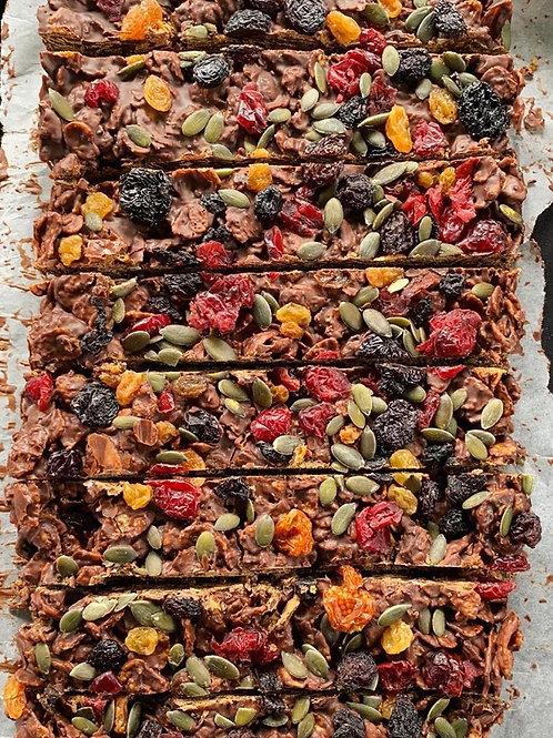 Grown-up cornflake bars
