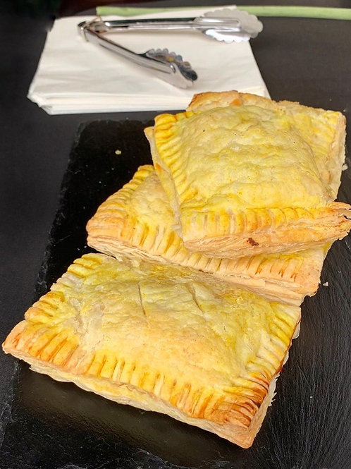Cheese and bean pasties