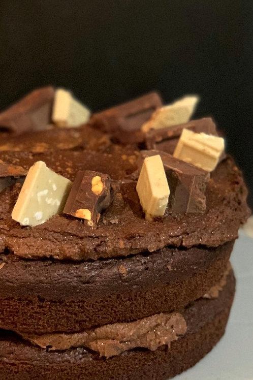 Vego© chocolate cake