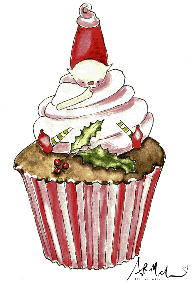 Fairy Gnome in Cupcake
