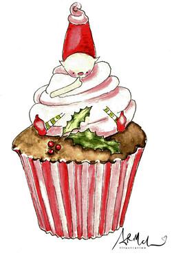 Fairy Gnome in Cupcake