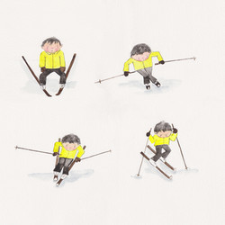 Demonstrating The Ski Forms