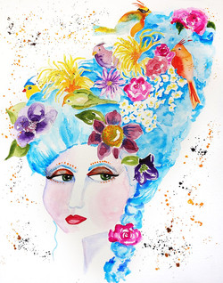 Whimsical Marie Antoinette