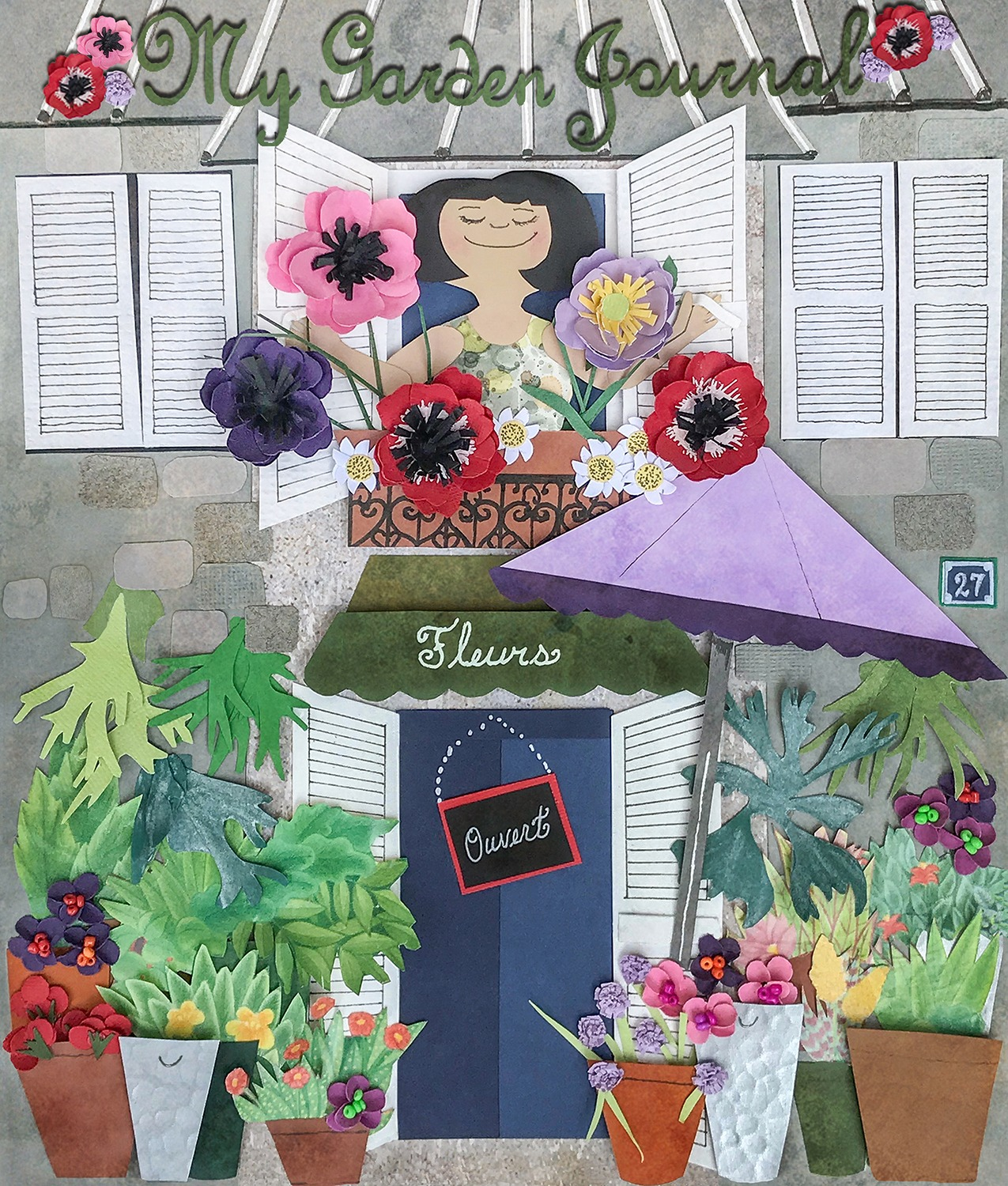 Flower Shop in Paper