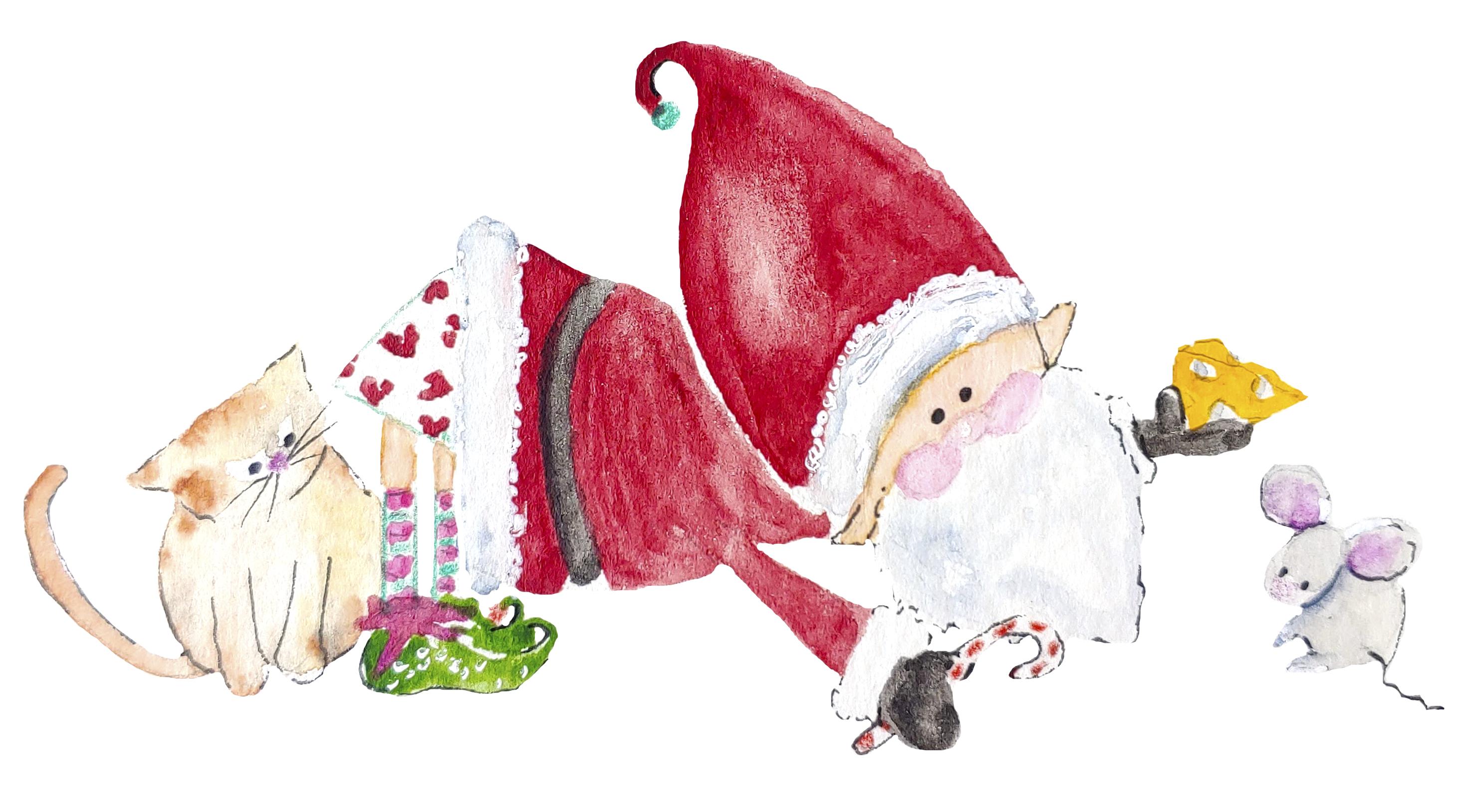 Santa_and_mouse
