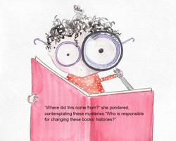 Esmeralda Reading a Book