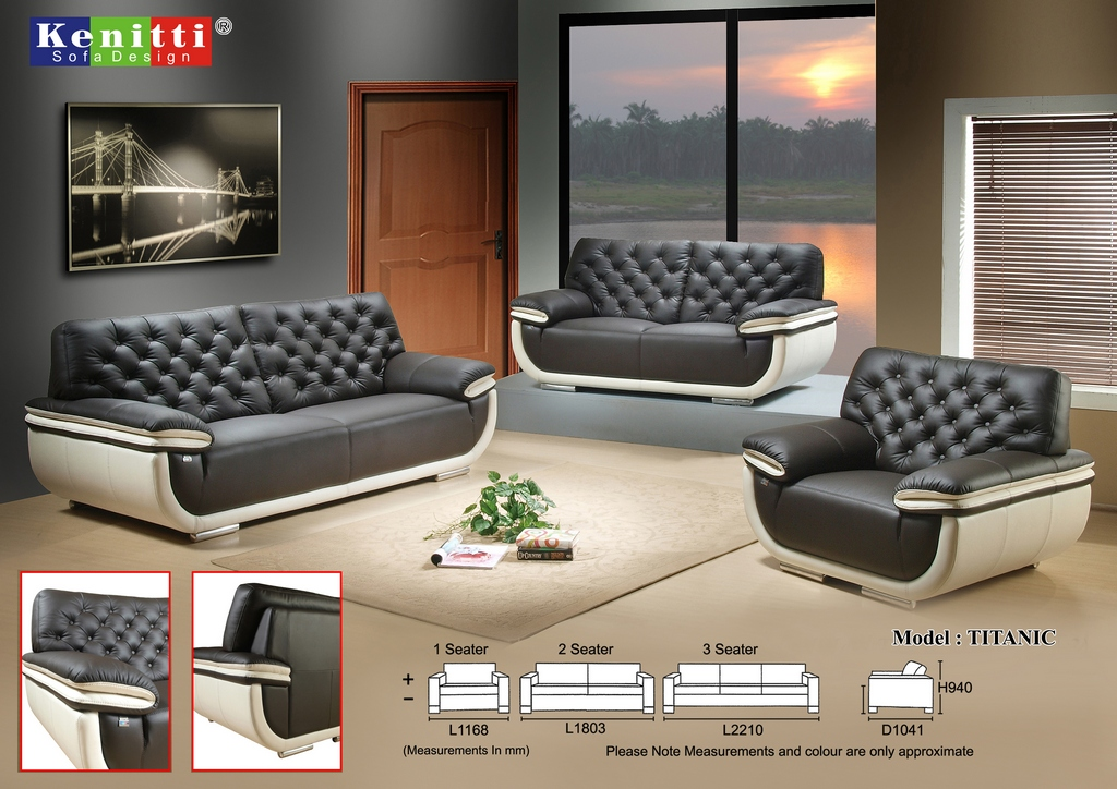 Kenitti Sofa - Contemporary Design -Tita