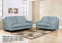 Model - 182 - 1 + 2 + 3 Fabric Covo Ice