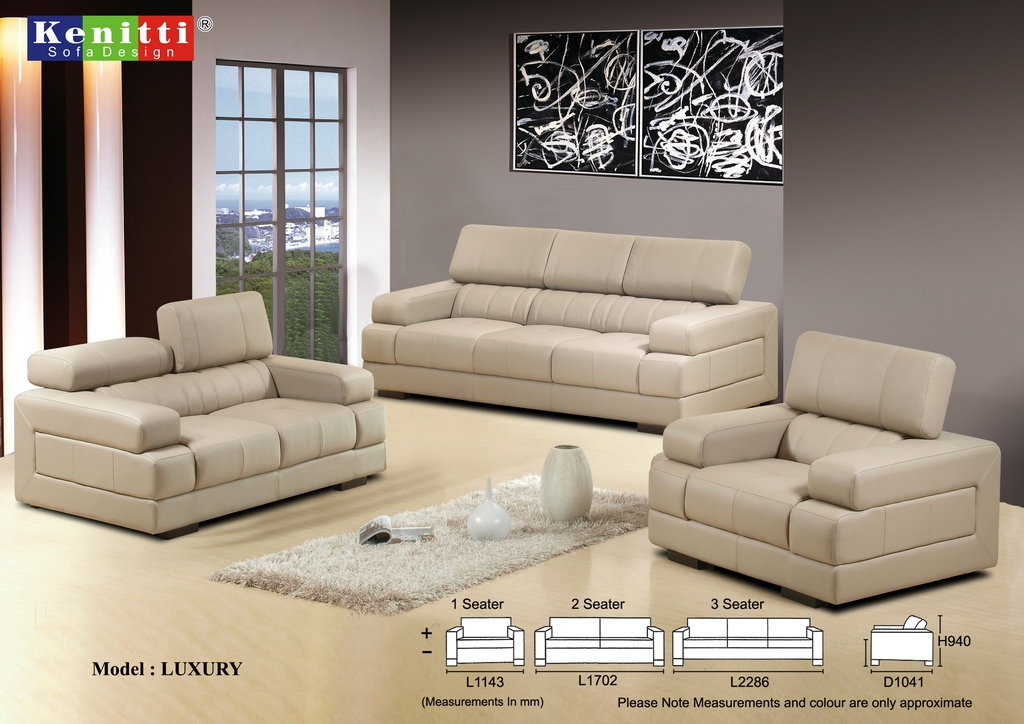 Kenitti Sofa - Contemporary Design -LUXU