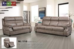 M - 116 - 1R - 2 - 3 Seater Sofa - High