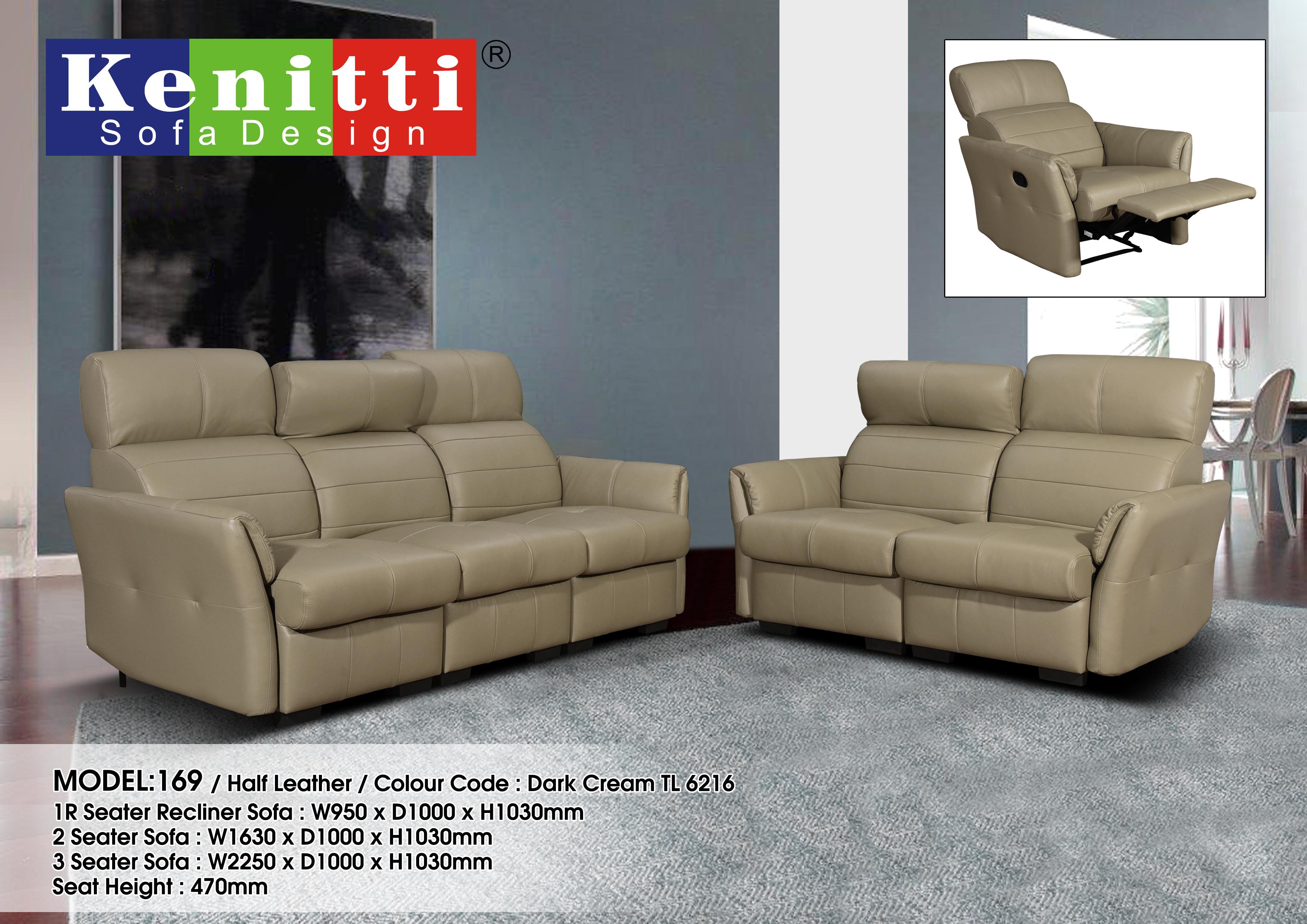 Model - 169 - Half Leather