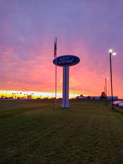"""Sunset at Hare Ford"" Steven Tolivar"