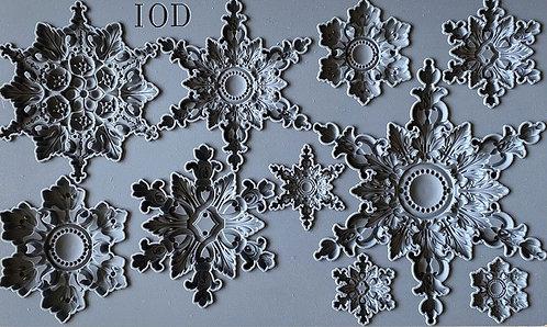 IOD Mould Snowflakes